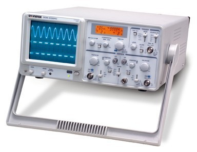30MHz 2-Channel Analog Oscilloscope