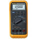 Fluke 787: Simultaneous mA and % of scale readout on mA output - 25% Manual Step plus Auto Step and Auto Ramp on mA output - Min/Max/Average/Hold/Relative modes - Externally accessible battery for easy changes - CAT III 1000V safety-rated, true-rms multimeter