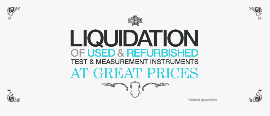 Test Instrument Liquidation