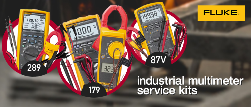 Fluke Industrial Multimeter Service Kits