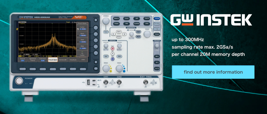 GW Instek introduces MDO-2000A Mixed-Domain Oscilloscope